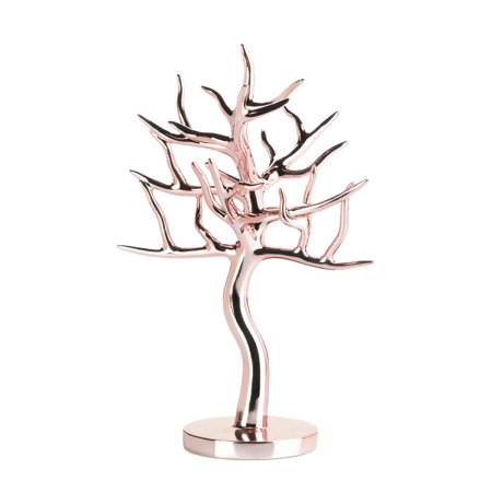 Jewelry Holder For Girls, Jewelry Tree For Earrings, Rose Gold Jewelry Tree Jewelry Holder For Girls, Jewelry Tree For Earrings, Rose Gold Jewelry Tree