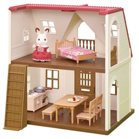 Cottage House Floorplans - Calico Critters Red Roof Cozy Cottage
