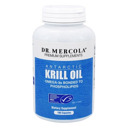 Dr mercola premium products krill oil 180 capsules for Fish oil alternative