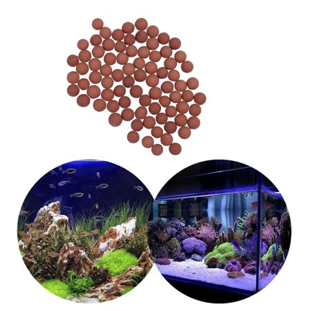 Tuscom 100g Bio Media Ceramic Sphere Aquarium Filter Plus Ion Exchange for Aquarium Fish Tank Koi Reef Filter Purify Water Quality