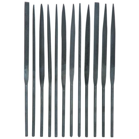 Precision Needle File Set 10pc Jewelers Metal Glass Hobby Tool, Use These Needle Files For Precision Work On Carbide; Glass; Hardened Steel.., By Generic ()