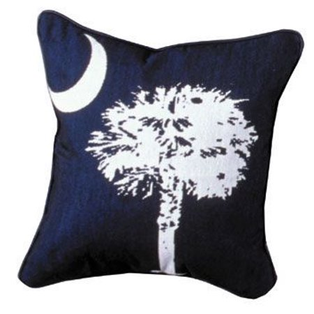 Simply Home Palmetto State Flag Tapestry Throw Pillow