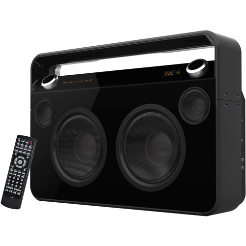 SuperSonic Bluetooth Boombox, Black by Supersonic