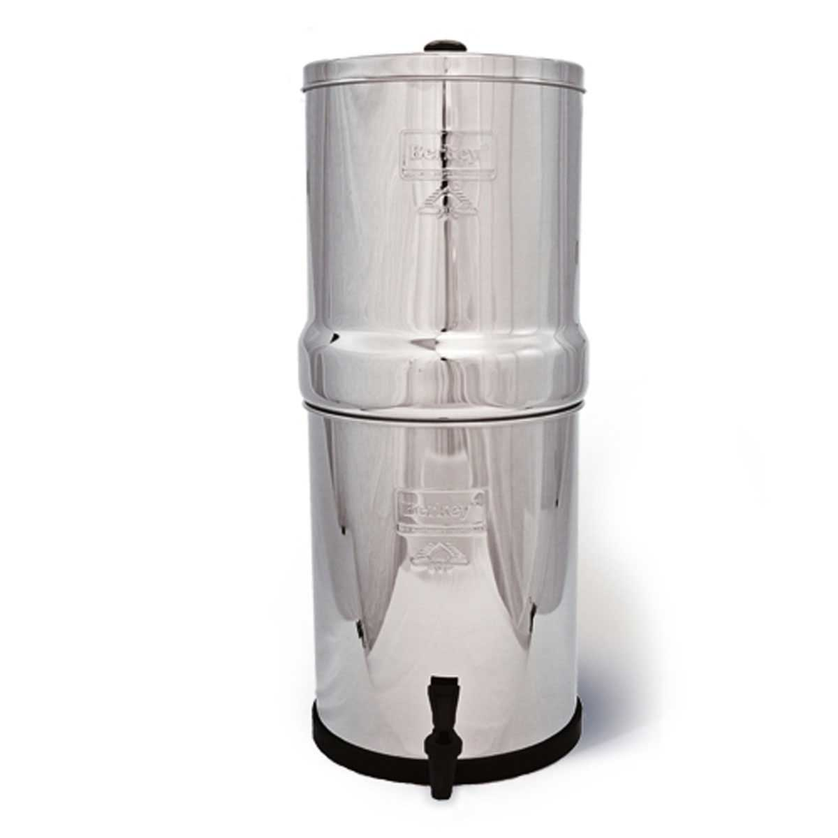 Royal Berkey 3 Gal Water System (2 Black Purifiers)