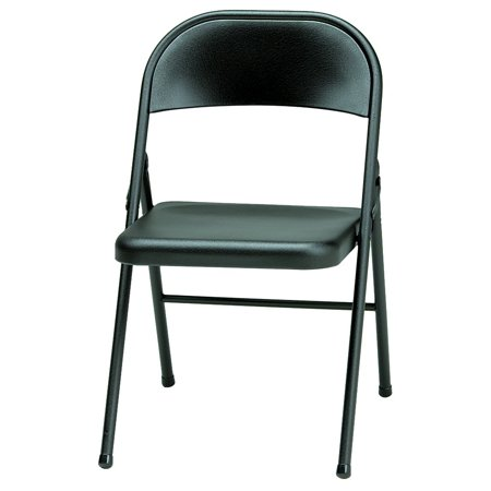 Prime Meco Sudden Comfort All Steel Folding Chair Black Pabps2019 Chair Design Images Pabps2019Com