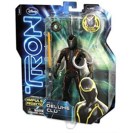 Tron Deluxe Impulse Projection Clu Spin Master 8-Inch Action Figure (Puppet Master Action Figures)