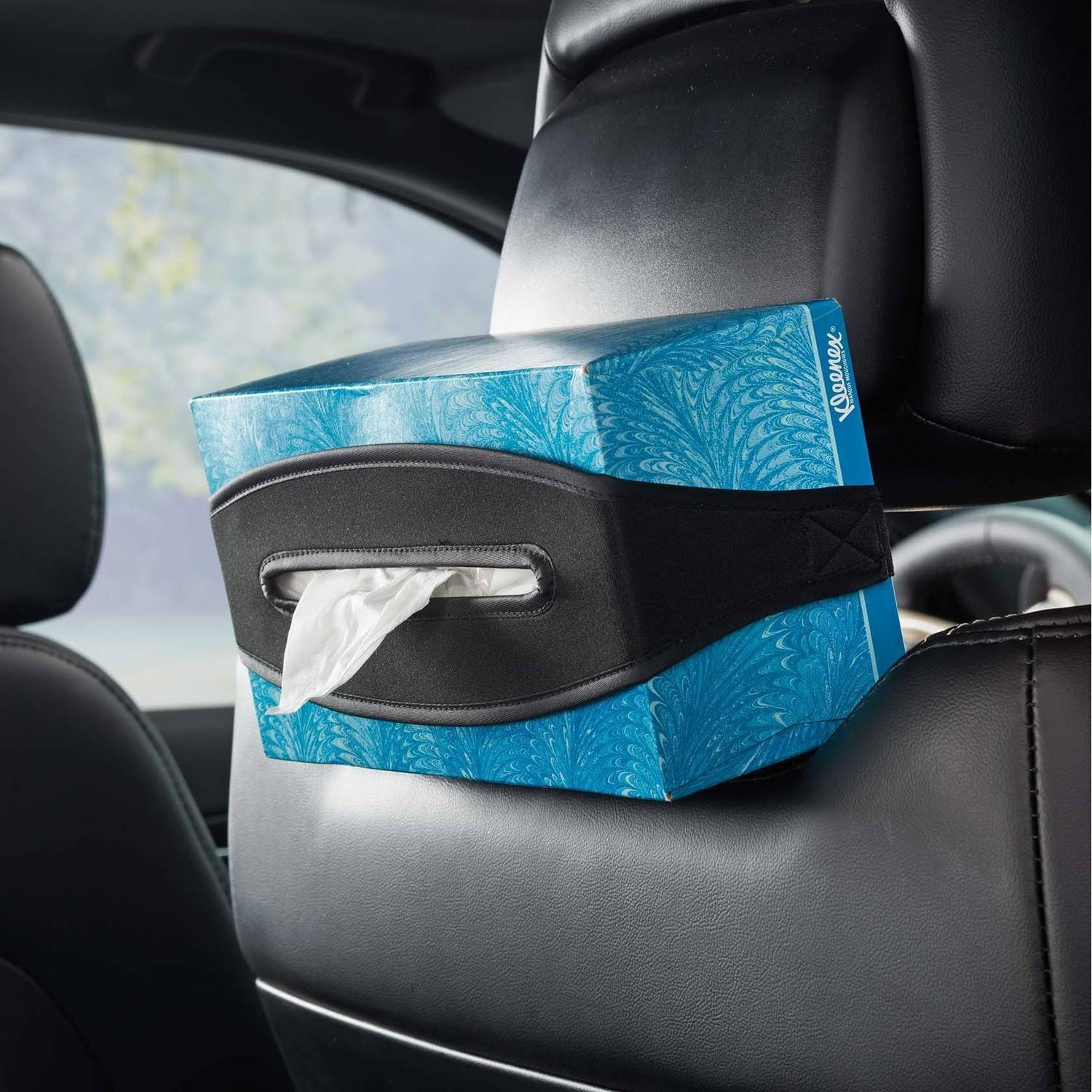 High Road Band-It Car Headrest Tissue Holder