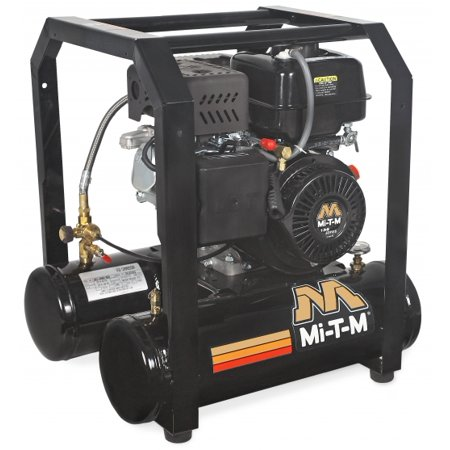 Mi T M Am1 Hm04 05M 5 Gallon Single Stage Gasoline Air Compressor  136Cc Mi T M Ohv Engine