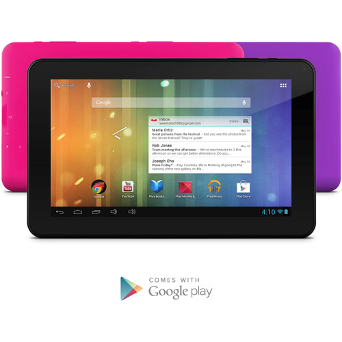 "Ematic 9"" Tablet 8GB Memory"