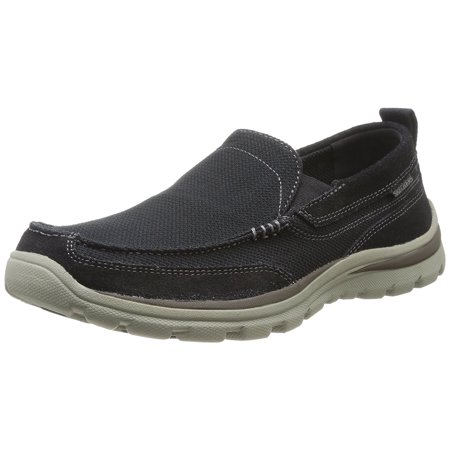 Converse All Star High Charcoal (Skechers USA Men's Superior Milford Slip-On Loafer,)