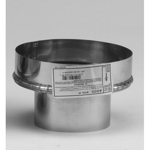 """Metalbest 3VP-A6 VP 3"""" Type L Pellet Pipe to 6"""" Chimney Adapter"""