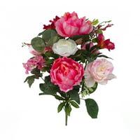 Mainstays Rose Peony Mix Bouquet