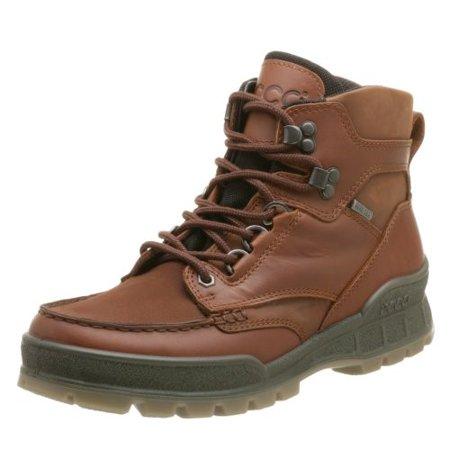 ecco men's track ii mid gore-tex boot,bison,44 eu (us men's 10-10.5