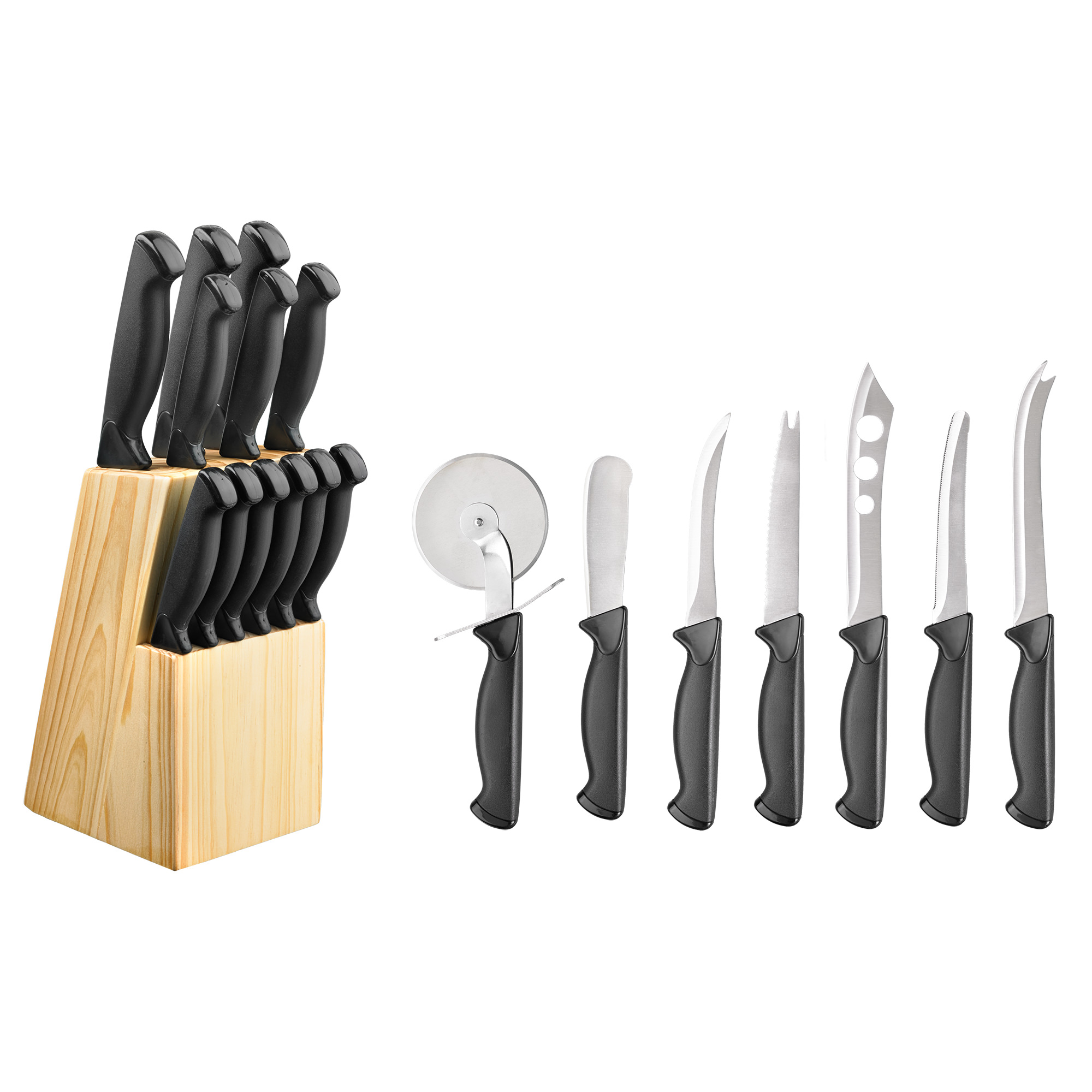 Hampton Forge Emmet 20 Piece Cutlery Block Set