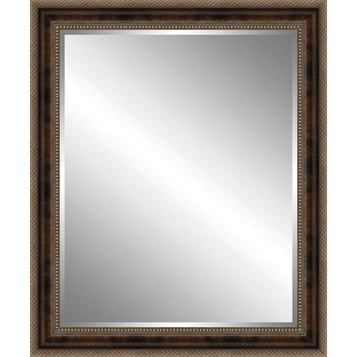 Ashton Wall D cor LLC Wood Framed Beveled Plate Glass Mirror