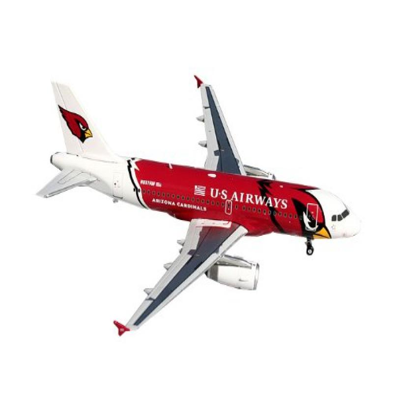 Image of Gemini Jets US Airways A319 Die Cast Aircraft (Arizona Cardinals), 1:200 Scale