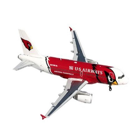 Gemini Jets US Airways A319 Die Cast Aircraft (Arizona Cardinals), 1:200 Scale