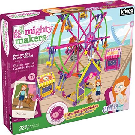K'NEX Mighty Makers - Fun On The Ferris Wheel Building Set