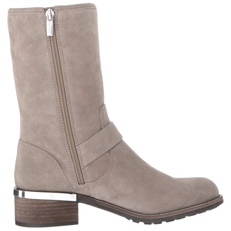 c029ec30c48 Vince Camuto Womens Windy Leather Round Toe Mid-Calf Motorcycle ...