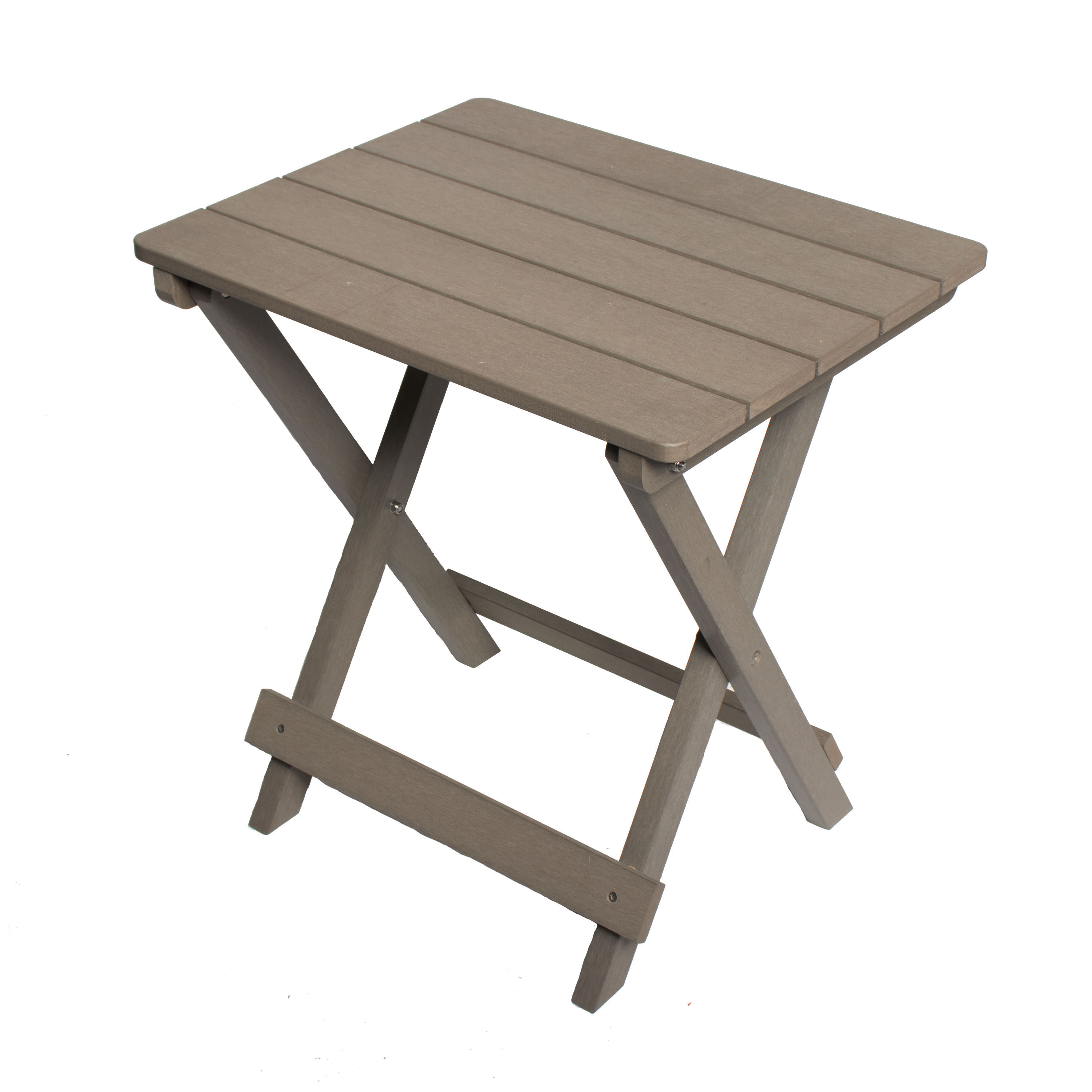 sports shoes e15a8 cde91 Composite Wood Outdoor Foldable Side Table - Grey