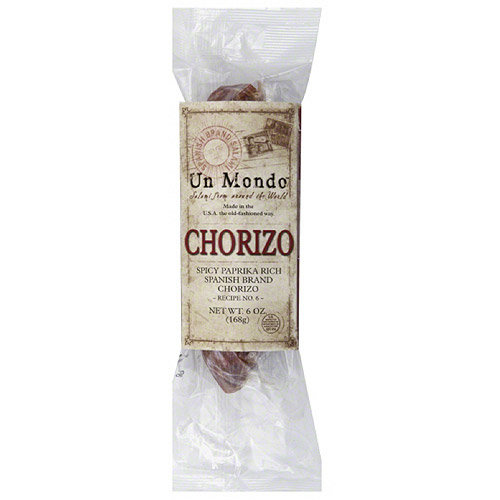 Un Mondo Chorizo, 6 oz, (Pack of 8) by Generic