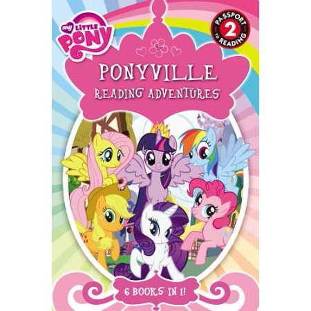 My Little Pony: Ponyville Reading Adventures (Paperback) - My Little Pony Halloween Coloring Pages