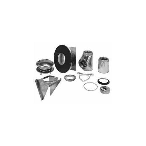 """Metalbest 6T-TWK Sure-Temp 6"""" Thru-the-Wall Support Kit f..."""
