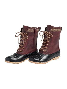 Kim Sherpa Lined Duck Boot