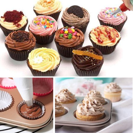 106 Pieces Cake Decorating Supplies Professional Cupcake ...