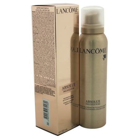 Lancaster Cleansing Block (Absolue Precious Pure Cleansing Creamy Foam by Lancome for Women - 5 oz Foam)