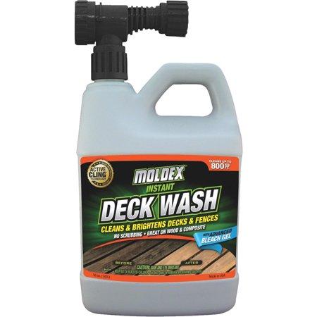 Deck Wash - Moldex Instant Deck Wash