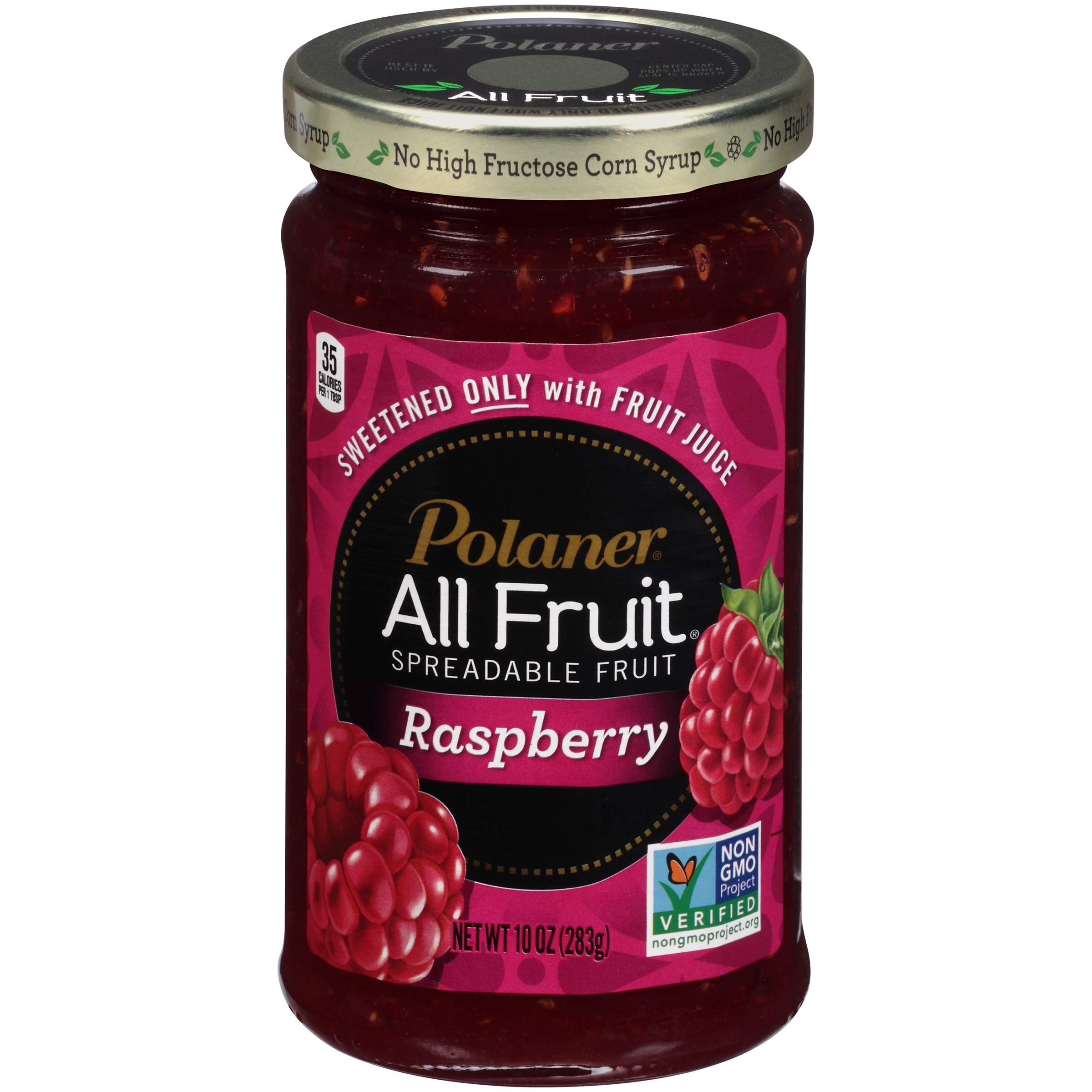 Polaner® All Fruit® Raspberry Spreadable Fruit 10 oz. Jar