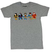 X-men (Marvel Comics)  Mens T-Shirt - Simple Pixel Gambit Rogue Wolverine & More