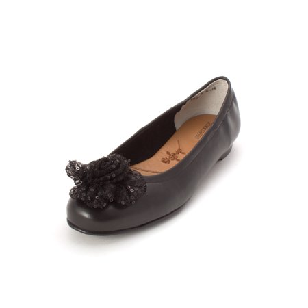 Ros Hommerson Womens Naughty Closed Toe Ballet Flats, Black, Size 8.5