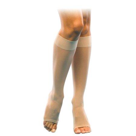 (Sigvaris 120 Well Being Women's Open Toe Knee Highs - 15-20 mmHg   Sig120C-OT)
