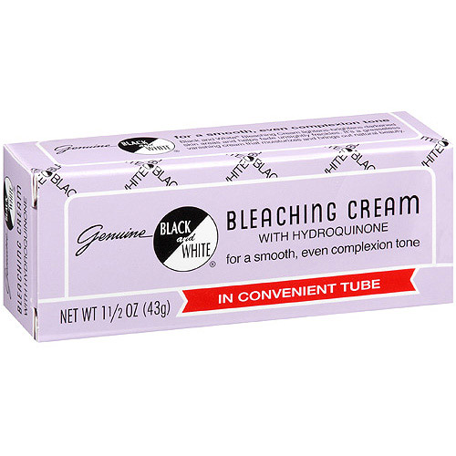 Genuine Black & White Bleaching Cream, 1.5 oz