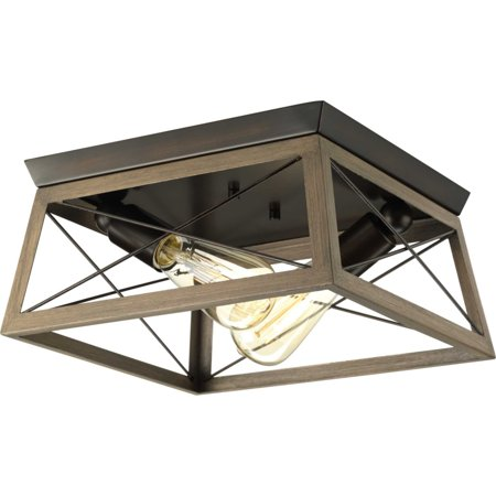 Briarwood Collection Two-light flush mount Collection 1 Light Flush