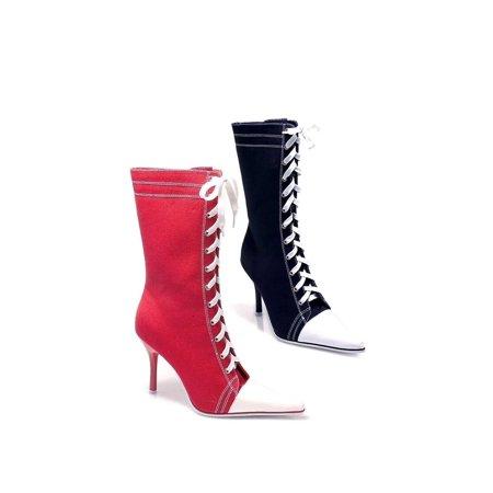 Ellie Shoes E-457-Taylor 4 Heel Sneaker Ankle Boots 7 / Blue