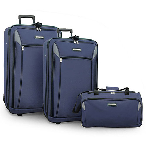 U.S. Traveler New Oregon 4pc Expandable Luggage Set
