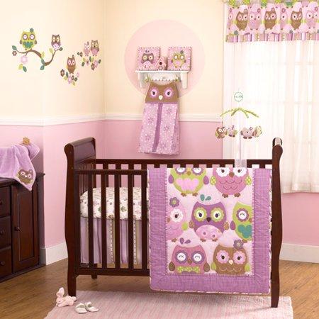 Cocalo Coco Amp Company Owl Wonderland 4 Piece Crib Bedding