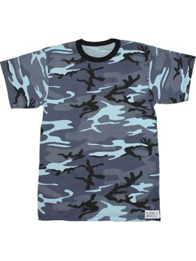 Product Image Woodland Camouflage Short Sleeve T-Shirt with ARMY UNIVERSE  Pin - Size X-Small ec84155385b