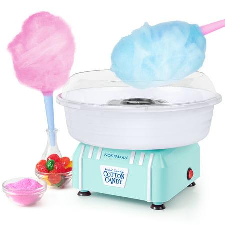 Nostalgia PCM205AQ Cotton Candy Maker, Aqua (Kid Candy Maker)