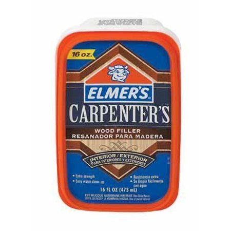 Elmer 39 S Carpenter 39 S Wood Filler Interior Exterior Stainable 16oz