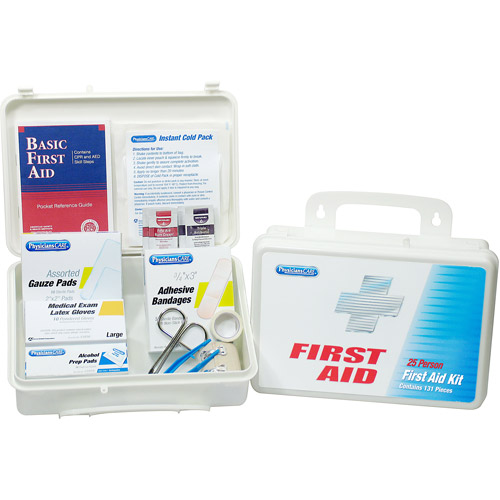 Physicians Care 131pc Home\Office First Aid Kit 25 Person