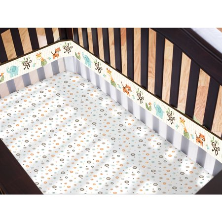 Garanimals Tribal Tales Fresh Air Crib Liner Walmart Com