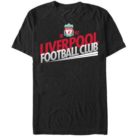 Liverpool Football Club Men's Team Name Crest T-Shirt