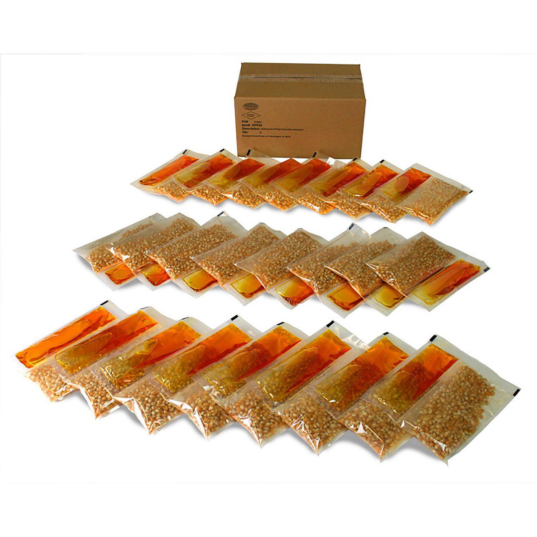 Nostalgia Popcorn, Oil, & Seasoning Kit (24 pk.)- Pack of 2