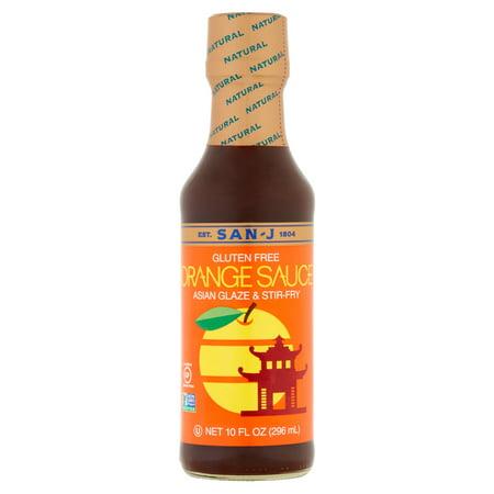 (San-J Orange Sauce, 10 fl oz)