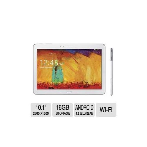 Samsung Galaxy Note 10.1 Tablet 2014 Edition - Android 4.3, Jelly Bean, 1.9 GHz Quad Core,  & 16GB On-Board Memory  - SM