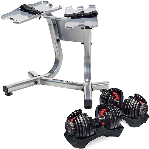 Select Tech 552 Dumbbells and Stand